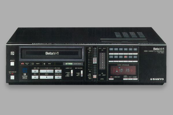 Betamax model VTC-M40