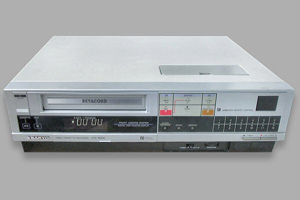 Betamax model VTC-6000
