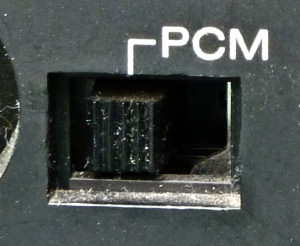Betamax SL-C9 PCM switch