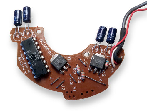 hall effect circuit board