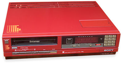 SL-C35AS Betamax red version