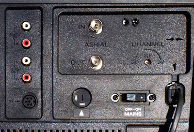 SL-C6ES rear connectors