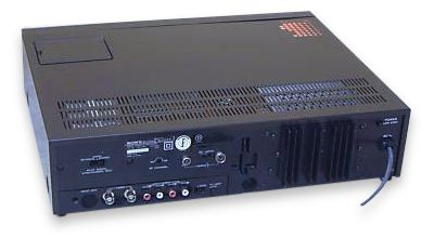 Sony Betamax SLC9 front rear