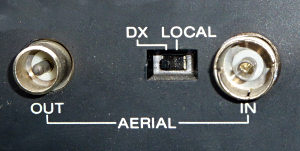 DX / Local switch